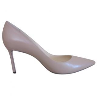 Jimmy Choo Beige Romy Shoes