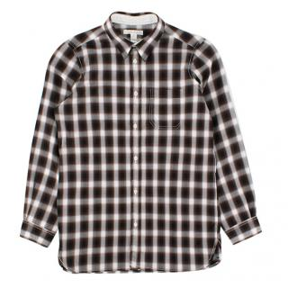Marie Chantal Boys Brown Button Down Shirt