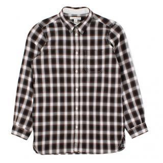 Marie Chantal Boys Brown Button Down Shirt