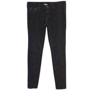 True Religion black skinny jeans
