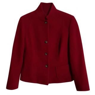 Max Mara Weekend Red Blazer