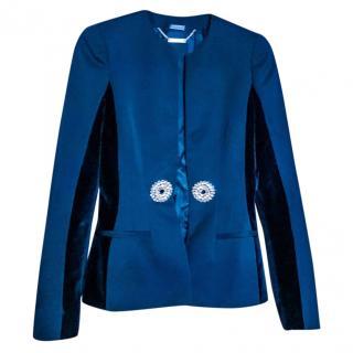 Alexander McQueen swarovski embellished jacket