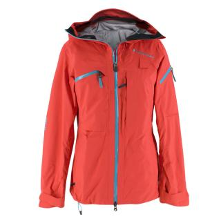 Peak Performance neon-pink ski jacket