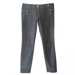 Elisabetta Franchi Velvet touch trousers