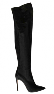 Casadei over the knee leather boots