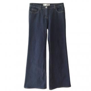 Dior Flared Wide Leg Jeans