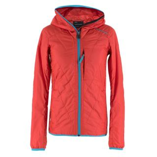 Peak Performance neon-pink quilted ThermoCool� jacket