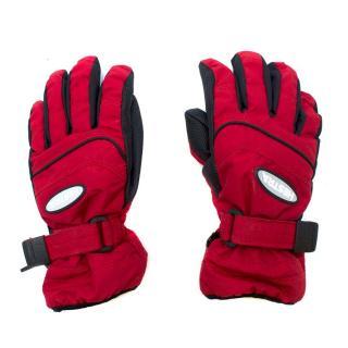 Hestra Red Ski Gloves