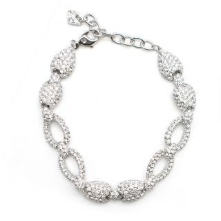 Swarovski crystal-pave bracelet