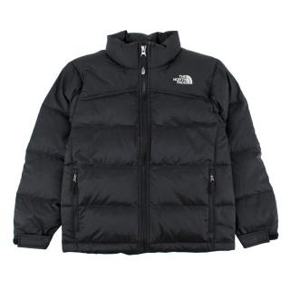 The North Face Black Down Puffer Coat