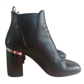 cfdb6eac917 Miu Miu Heeled Ankle Booties