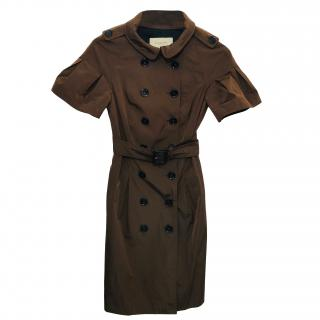 Burberry Short Sleeve Coat.