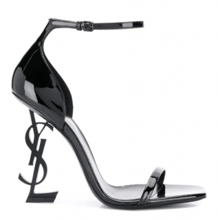 Sain Laurent Opyum patent leather sandals - New Season