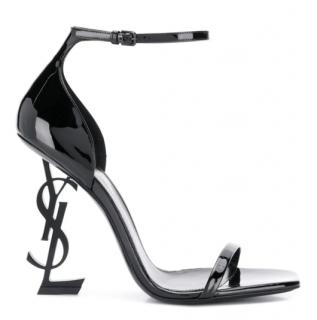 Sain Laurent Opyum patent leather sandals - New Season