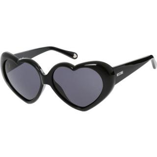 Moschino Black Heart Shaped Sunglasses