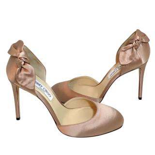 Jimmy Choo Kay satin pump