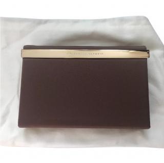 Charlotte Olympia Brown  box clutch