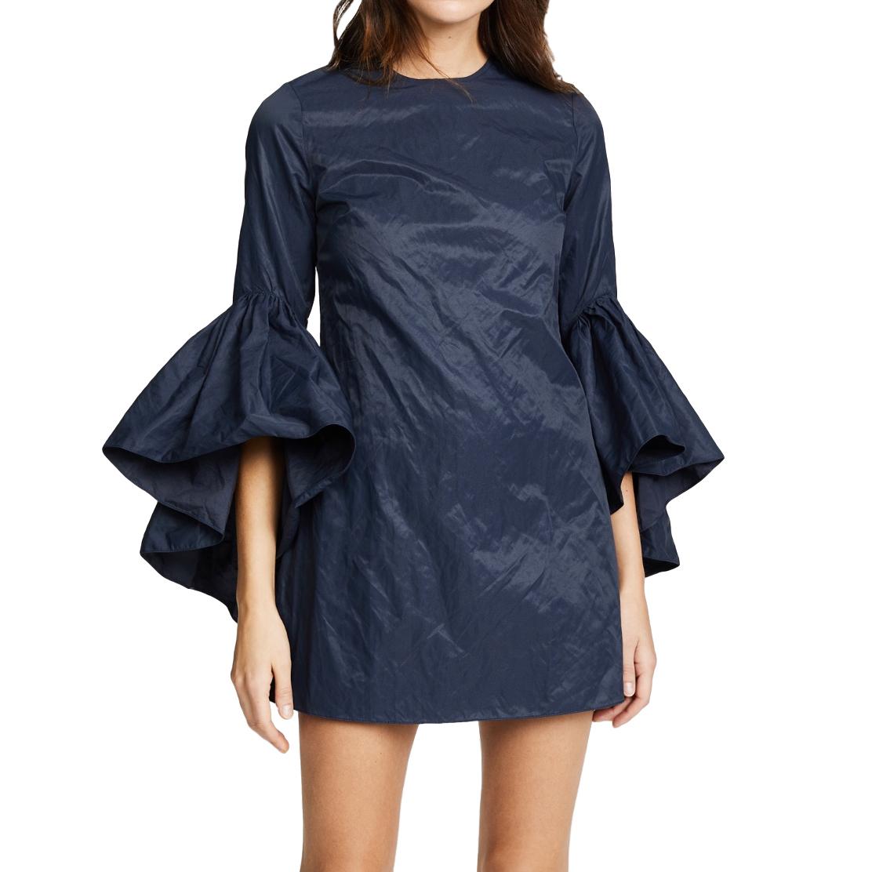 Marques Almeida Oyster Sleeve Dress