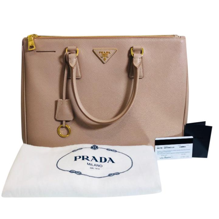 dbf0656c44c0 Prada Saffiano Leather Tote Bag 2 | HEWI London