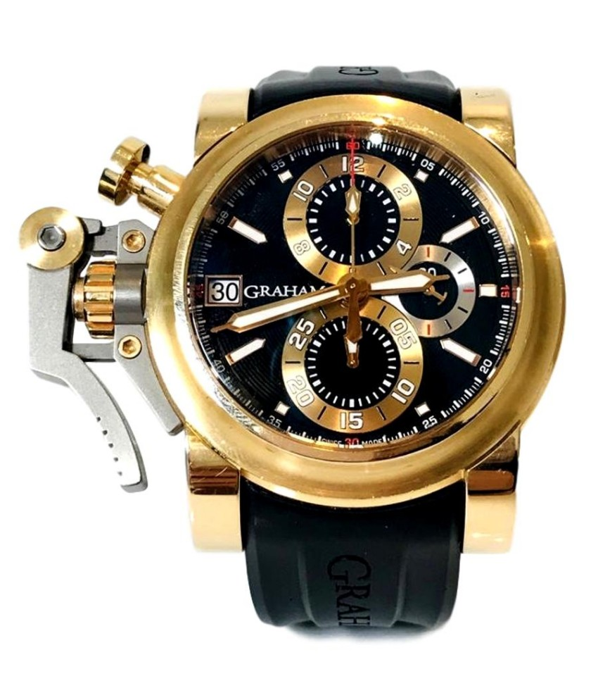 Graham Chronofighter Ltd Edition 18k Gold Finger Watch