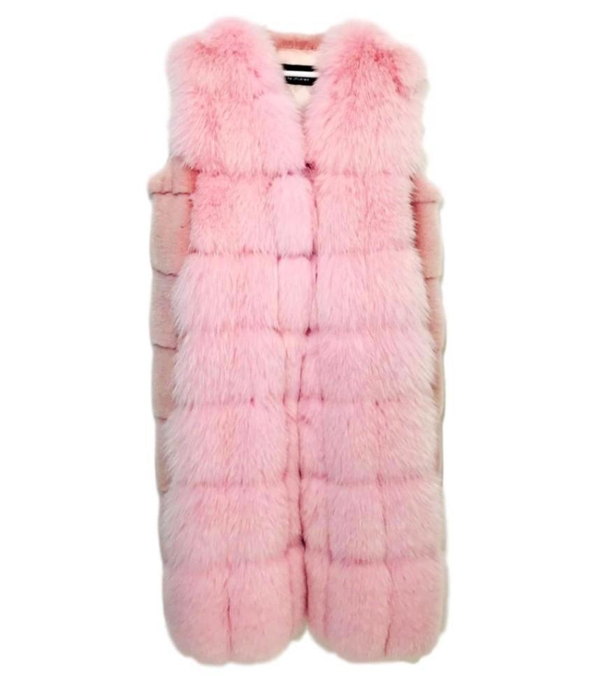 Mala Mati Mink & Fox Fur Gilet