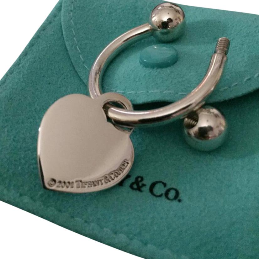 89d9d0565 Tiffany Co Heart Keyring | HEWI London