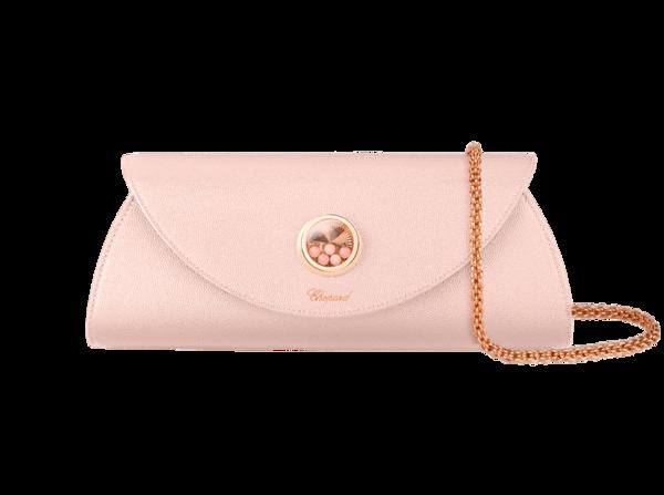 Chopard Happy leather clutch bag