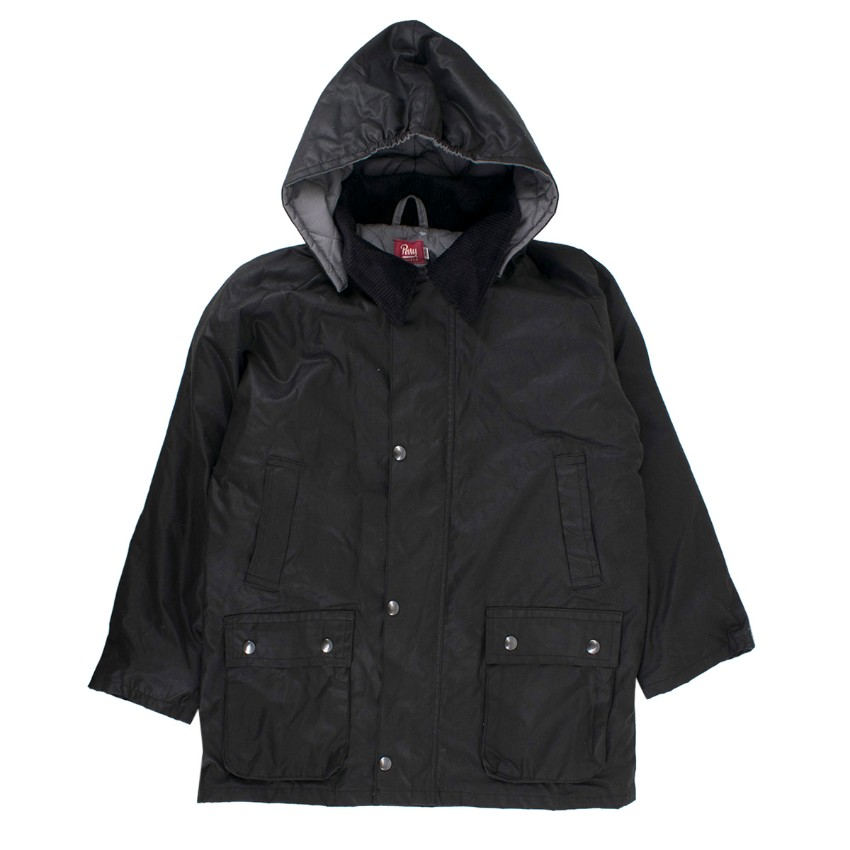 Perry Uniform Boys Coated Cotton Puffer Jacket