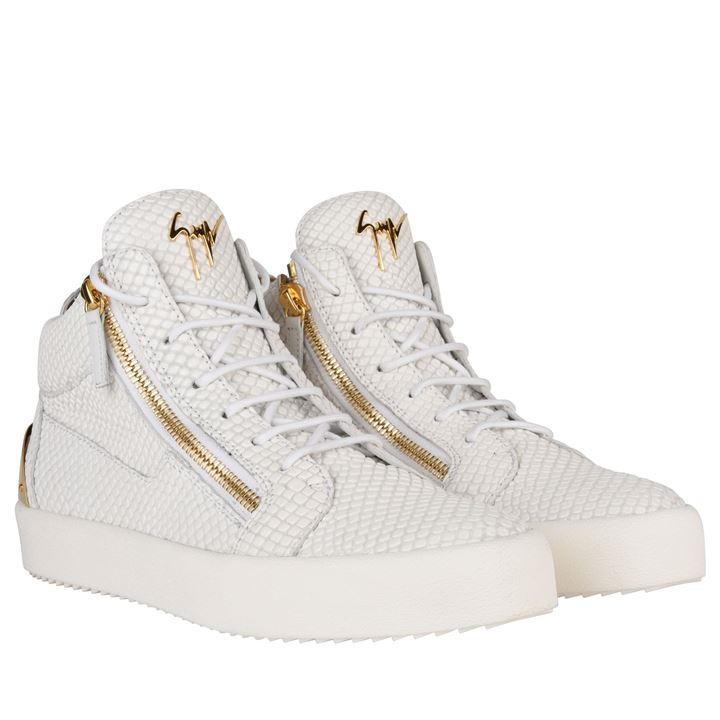 Giuseppe Zanotti May Ldn Snake mid-top sneakers