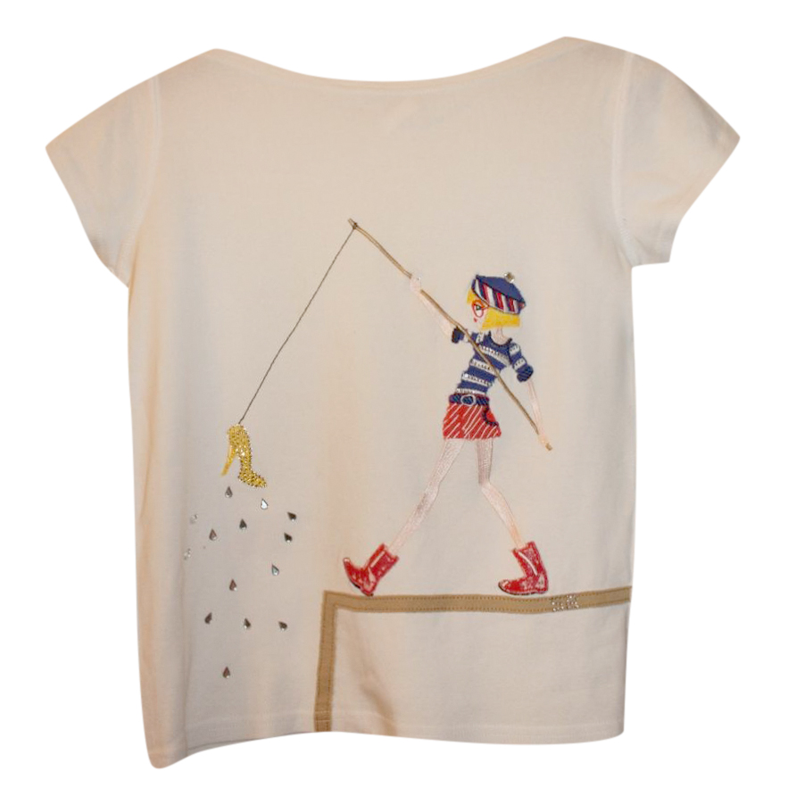 Rykiel Enfant Girl's Fishing Top