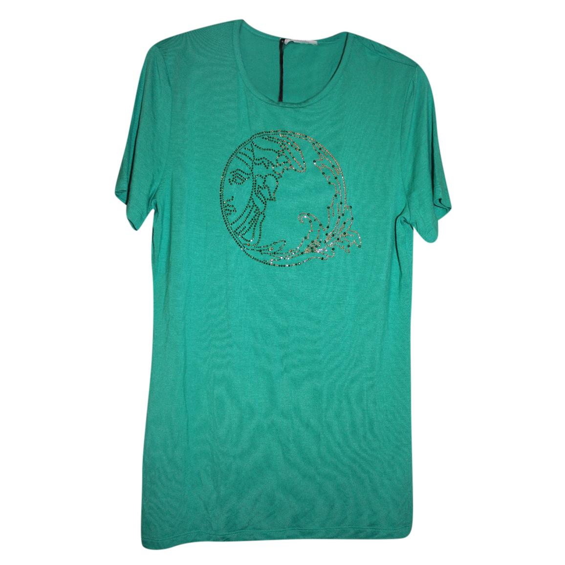 Versace Collection Studded Medusa Top