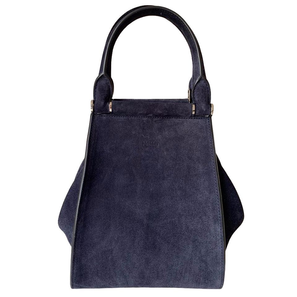 Max Mara Suede Handbag with shoulder strap