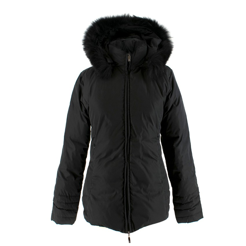 Moncler Black Short Down Jacket