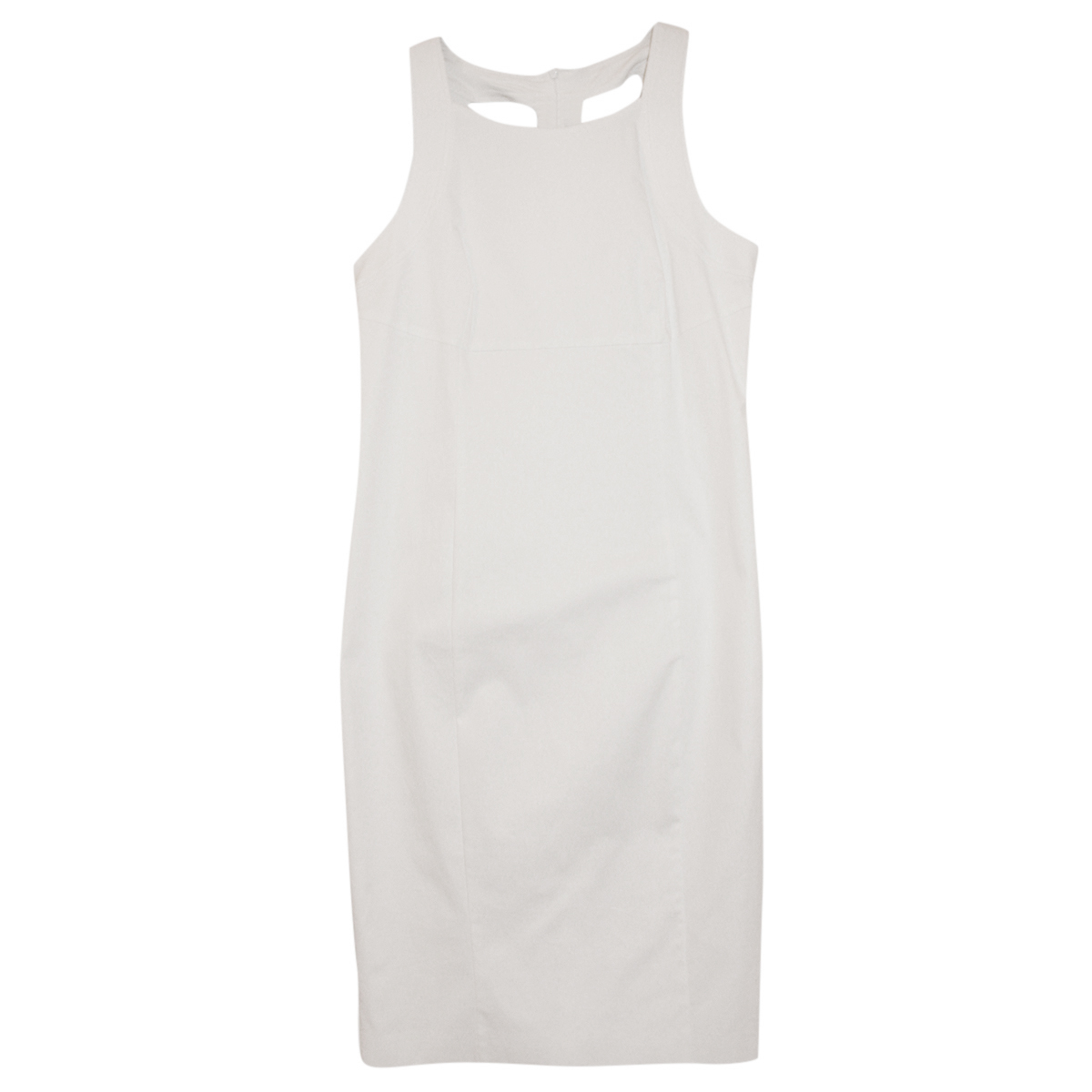 MaxMara Studio white bodycon dress