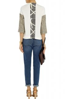 By Malene Birger Torani Silk and Crepe Top