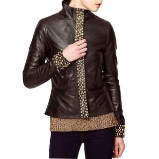 Sara Berman Soft Leather Jacket