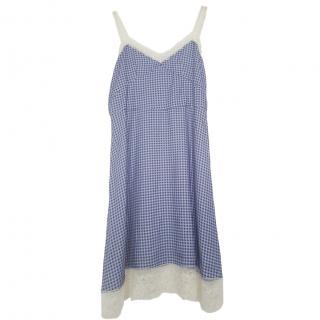 Paul & Joe Violet Printed Dress