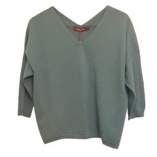 MaxMara V-neck wool sweater