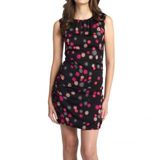 Diane von Furstenberg polka-dot print dress