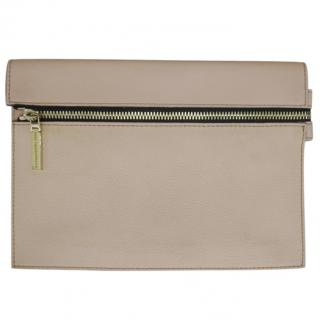Victoria Beckham Leather Clutch Bag