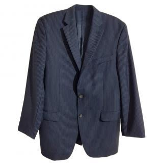 Ralph Lauren pinstriped blue blazer