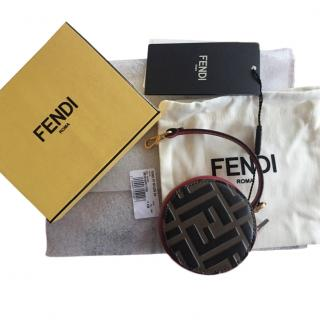 Fendi tri-colour leather purse
