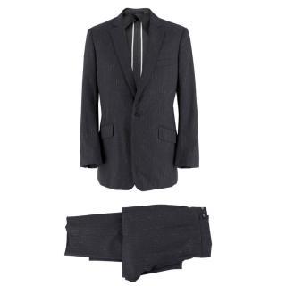 Kilgour Grey Striped Two Piece Suit
