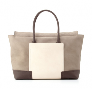 Brunello Cucinelli two-toned leather tote