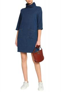 MIH Jeans Westbourne Blue Denim Dress