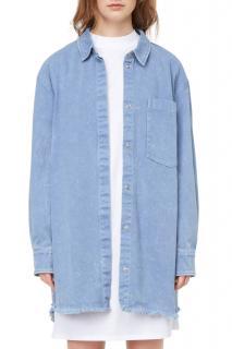 Weekday Tanja oversized denim shirt