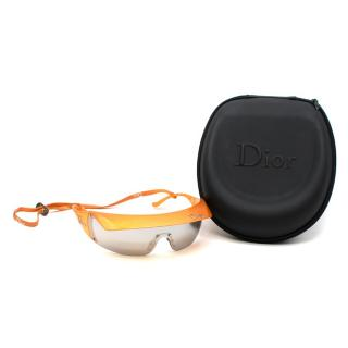 Dior Vintage detachable-visor sunglasses