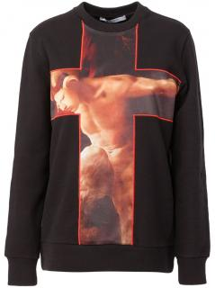 Givenchy Crucifix Sweatshirt
