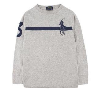 Polo by Ralph Lauren boy's logo-embroidered polo jumper