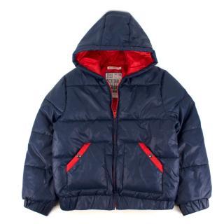 Billybandit Kids Navy Blue Puffer Jacket